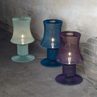 Knitted Lamps