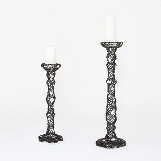 Engineering Temporality Candle Holder